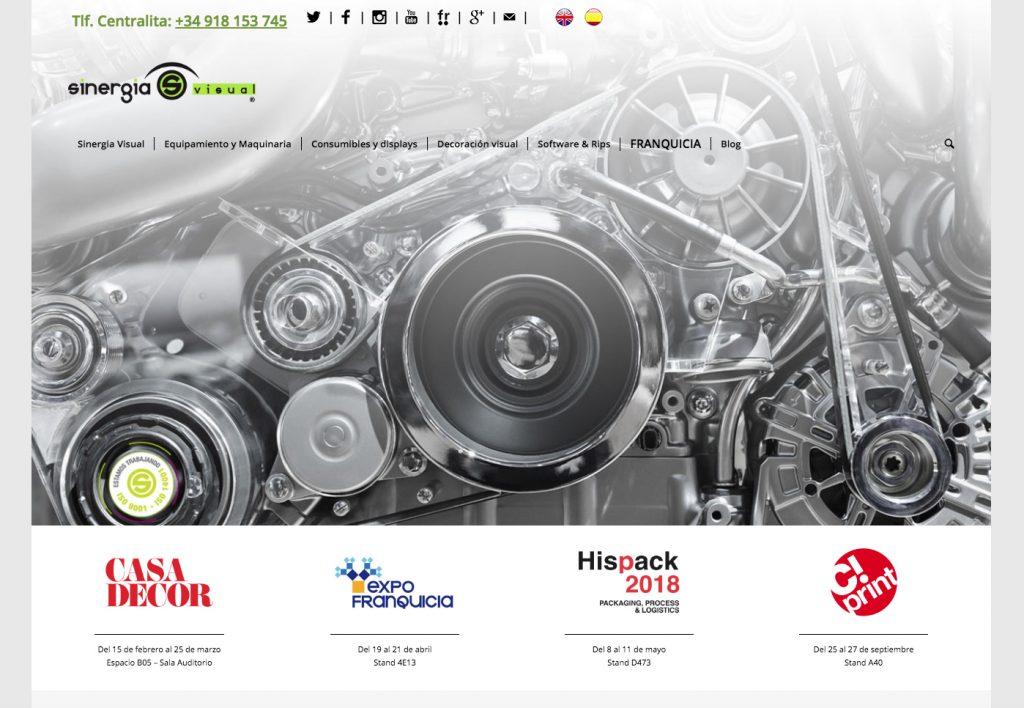 Componentes y maquinaria de impresión Sinergia Visual