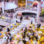 Franquicias de restauración en un centro comercial